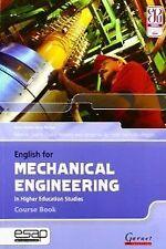 ENG.FOR MECHANICAL ENGINEERING (COURSE BOOK+CD). ENVÍO URGENTE (ESPAÑA)