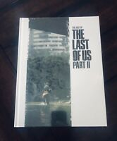 The Art of the Last of Us Part II 2 (Hardcover) Naughty Dog Dark Horse Artbook
