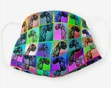 "Giant Schnauzer Limited ""Pop Art"" Face Mask"
