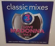 DMC CLASSIC MIXES I LOVE MADONNA VOLUME 3 DJ REMIX SERVICE CD