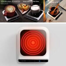 Smart Electric Cup Mug Coffee/Milk/Drink Warmer Heater Smart Tray Mat USB 55℃