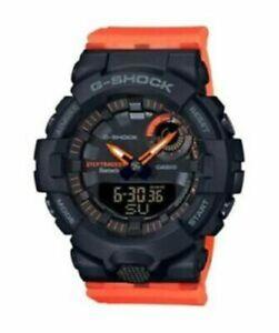 NEW AUTHENTIC Casio G-Shock GMAB800SC1A4 Analog-Digital Watch Black Orange Watch