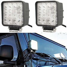 Pair Polaris Ranger 4INCH LED Work Light Bar Spot offroad Lamp ATV RZR Sportsman