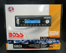 Open Box Boss Car Stereo Cd/Am/Fm~ No wiring harness - No Face~ No Returns