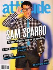 SAM SPARRO - EDDIE REDMAYNE - Vintage UK ATTITUDE Magazine June 2008 C#50