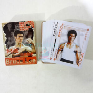 Deck 54 CHINESE KUNG-FU Famous Gongfu Movie Star-Bruce LEE Playing card/Poker