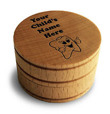 Custom Personalize Memento Dream Keepsake Tooth Box My First Tooth Fairy Box New