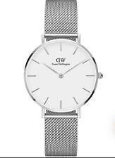 Orologio daniel Wellington dw00100306 sterling silver bianco 36mm maglia milano