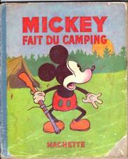 MICKEY FAIT DU CAMPING  -   édition originale de 1933