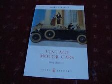 VINTAGE MOTOR CARS by Bill Boddy    (Cars between 1919 and 1930)