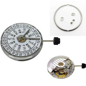 1* Echtes atomatische Uhrwerk für ETA 2836-2 SELLITA SW220 3H weiß/Gold