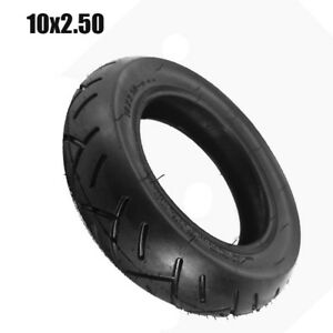 Tires 10 x 2.50 inch Black 10X2 for Electric Scooter Balance Drive Bicycle Tyre