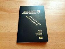 Bosnia and Herzegovina, Collectible Biometric passport