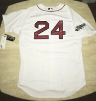 Rare NWT Manny Ramirez 2007 WS Authentic On-Field Majestic Red Sox Jersey 52 2XL