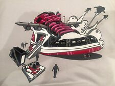 Authentic Exact Science Air J jet tee vintage rare black toe XL Supreme t-shirt