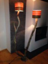 Baumstamm Stehlampe groß massiv Altholz Lampe Leuchte