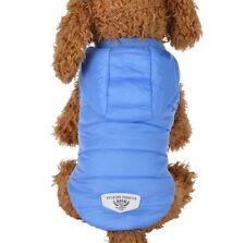 Hundemantel Wintermantel Hundebekleidung Hundejacke L Winterjacke Jacke Blau NEU