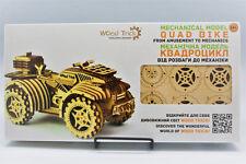 Quad Bike-woodtrick 3D Rompecabezas mecánico de Madera Modelo &