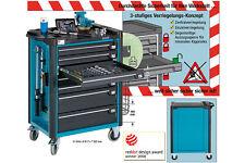 HAZET 179-7 Werkstattwagen ohne Werkzeug Wagen kugelgelagert Kfz Auto Werkstatt
