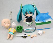 "ANIME Nendoroid 339a Hatsune Miku Swimwear & FamilyMart 2013 Ver. 4"" Figure Toy"