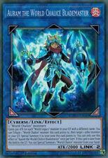 3x YuGiOh COTD-EN049 Auram the World Chalice Blademaster Super Rare Unlimited Ca