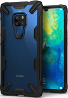 Huawei Mate 20, Case Ringke [Fusion-X] Clear PC Back TPU Drop Protection Cover