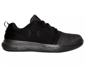 Boys' Preschool Under Armour 24/7 Low Casual Shoes Black/Charcoal 1287854 003 12