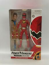 Power Rangers Lightning Collection Dino Thunder Red Ranger - FREE US SHIP