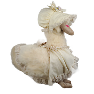 Vintage 1979 Ms Noah Mother Goose Martha Plush Huge Stuffed Animal