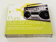 VARI PURE 80S DANCE PARTY 4CD BOX 2011
