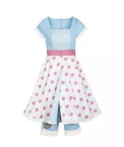 Disney Dress Shop Toy Story 4 Bo Peep Jumpsuit and Convertible Skirt Women XL