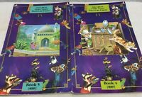 Lot of 2 GREAT FAIRY TALES TREASURE CHEST TORMONT BOOK 4 & 5 TEACHER BIG BOOK