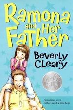 Kids fun paperback:Ramona+Her Father-Ramona worried about her father-will smile?