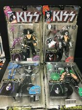 D4 KISS COLLECTION FARLANE TOYS FREHLEY CRISS STANLEY SIMMONS