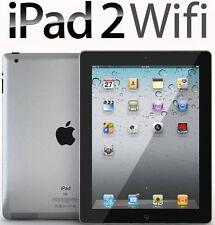 Apple iPad 2 Black 16GB Wifi 9.7in Screen Warranty Included Good Condition