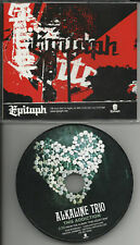 ALKALINE TRIO This Addiction PROMO DJ CD Single 2010