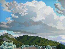 """Doug West, Near Taos, """"Two Remember"""" Limited edition serigraph, almost sold-out!"""