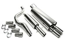 Audi A3 (8L) Full Exhaust Stainless Steel 2x76
