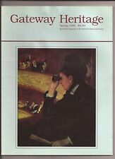 GATEWAY HERITAGE Spring 1995 Magazine...At The Opera Oil Painting Cover