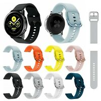 Replacement Soft Silicone Band Strap Bracelet For Samsung Galaxy Watch Active