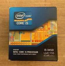 Intel Core i5-3450 Quad Core  3.10 GHz Socket LGA1155 CPU processor Ivy Bridge