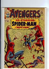 The Avengers #11 (Dec 1964, Marvel)   HIGH GRADE  SPIDER-MAN!!