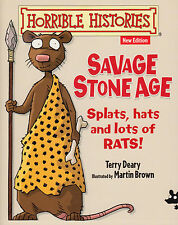 Horrible Histories Savage Stone Age by Terry Deary NEW BOOK (Paperback, 2014)