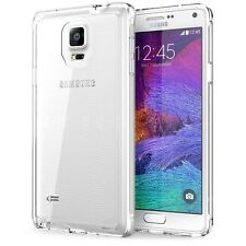 For Samsung Galaxy Note 4 Phone Case Slim Thin Clear Tpu Silicon Back Cover
