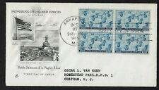 #935 3c WWII Navy- U.S. Sailors- ArtCraft FDCB4