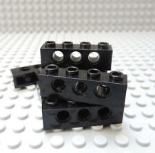 TK35 BRICK x 6 DARK BLUISH GREY 3701 LEGO TECHNIC 1 x 4