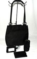Worthington Black Paisley Wallet Coin Purse Wristlet Organizer Shoulder Bag NWOT