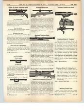 1938 PAPER AD Lyman 422 Expert Rifle Telescope Sight Mossberg Spotshot & Stand
