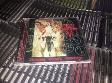 MIGHTY GOAT OBSCENITY - kosmos satan's sovereign CD Brazilian BM Ocultan