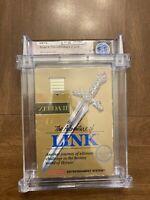 The Adventures Of Link Zelda 2 II WATA Certified CIB 5.5 NES NINTENDO NOT VGA